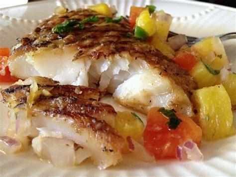 grouper grilled recipes recipe fish mango broiled parmesan fresh salsa chicken salad beach pineapple iii panama fillets main dish served