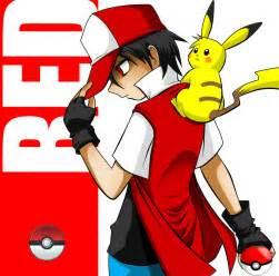 red trainer pokemon