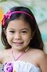 Young Girl Hawaiian Polynesian Children In Casual Clothing ...