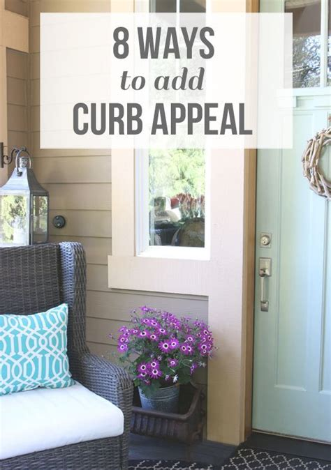 how to add curb appeal 8 ways to add curb appeal budget ideas and curb appeal