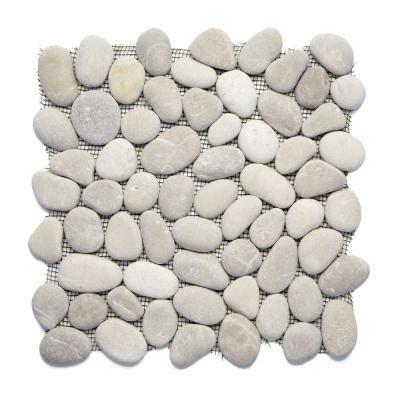 solistone tile home depot solistone river rock brookstone 12 in x 12 in x 12 7 mm