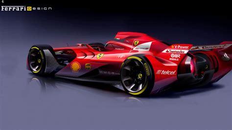 ferrari presento el auto del futuro  la formula