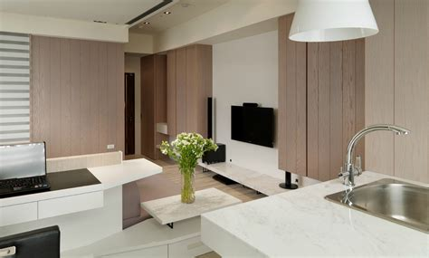 Small Living Streamlined Studio Apartment by Small Living Streamlined Studio Apartment
