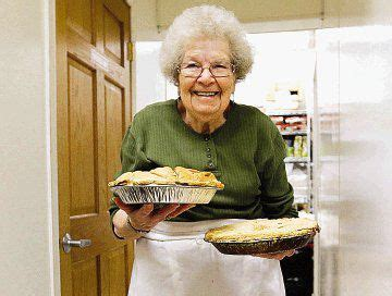 pie lady  year  woman  baked thousands