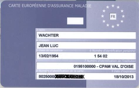 bureau carte assurance maladie pin carte europenne dassurance maladie valable 1 an la