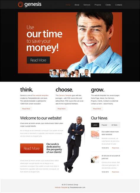 author page template genesis free genesis website template