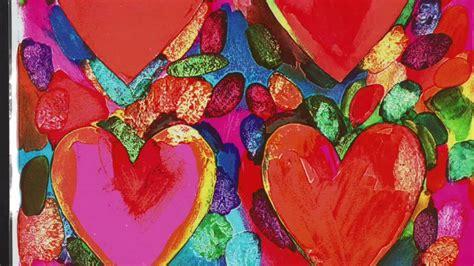 Jim Dine Hearts Youtube