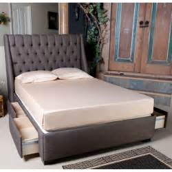 King Platform Bed With Fabric Headboard by Diy Upholstered Storage Bed Diy Upholstered Headboard