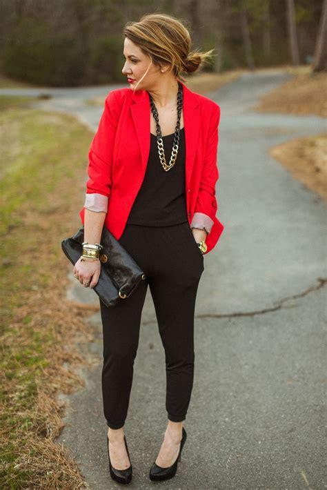 Best 25+ Red blazer ideas on Pinterest | Red blazer outfit Red blazer dress and Leopard shirt