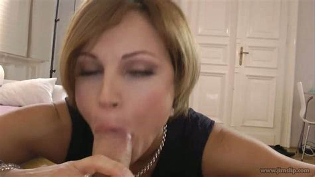 #Elegant #Milf #Sylvia #Gives #A #Head #In #Pov #And #Then #She #Rides