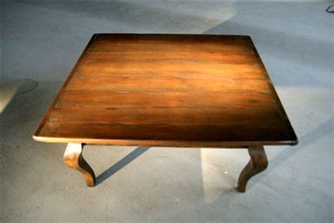 Find a great selection of wood coffee tables, metal accent tables, storage tables & more. 4'ft Rustic Large Square Coffee Table - Farmhouse - Coffee Tables - boston - by ECustomFinishes