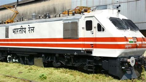 Indian Railways gets its first engine with aerodynamic and ...