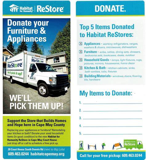 habitat  humanity restore donate furniture