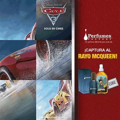 Cars Disney Pixar Promo Behance Perfumes Factory