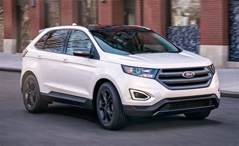 Ford Edge Style Change by 2018 Ford Edge Adds Fresh Style With Sel Sport Appearance