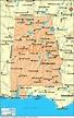 map of cities Alabama.Map of Alabama Cities | Cleveland ...