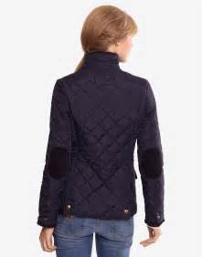 Women's Navy Quilted Jacket