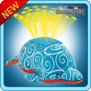 Authentic Pillow Pets Swirly Dolphin Dream Lites Toy Gift
