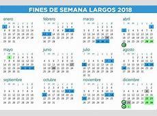 Se definió el calendario de fines de semana largos para