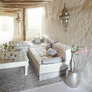 le salon marocain de quotmille et une nuitsquot en 50 photos With tapis moderne avec meuble et canapé