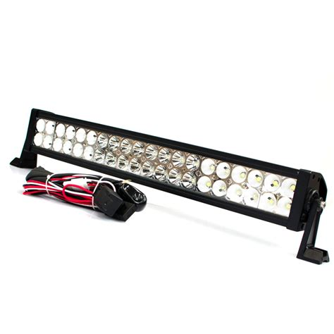 24 034 inch led light bar 120w 12v 24v road 4wd truck