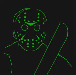 Jason Mask Pumpkin Stencil by Jason Voorhees Pumpkin Stencil By Ruhigeliebe On Deviantart