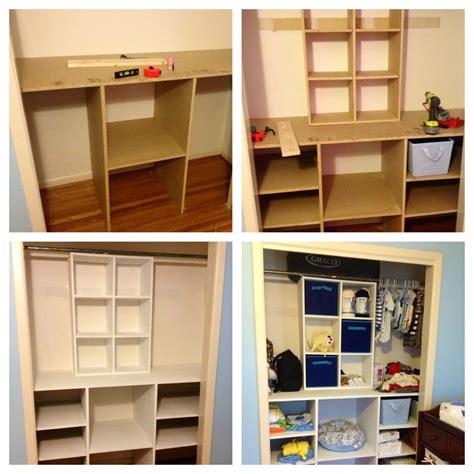 Diy Clothes Closet Organization Ideas by Diy Baby Closet Organizer Diy Closetorganizer
