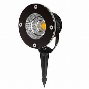 Led 10 Watt : 10 watt landscape led spotlight w mounting spike 60 watt equivalent 670 lumens super ~ Watch28wear.com Haus und Dekorationen