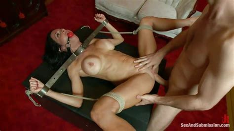 Veronica Avluv James Deen In Gagged Milf Tied And Fucked HD From Kink Sex And Submission