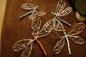 Wire Dragonflies  U00b7 How To Make A Wire Model  U00b7 Art