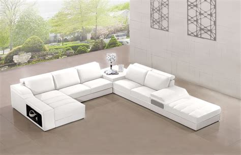 salon canapé blanc canape panoramique cuir salon elegancia blanc canape