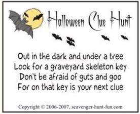 Halloween Treasure Hunt Riddles Adults by Teen Halloween Party Ideas Landeelu Com