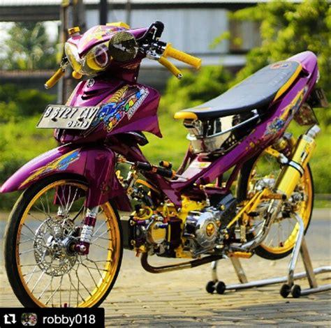 Vixion Thailook Style by Gambar Modifikasi Yamaha Jupiter Z Thailook Style