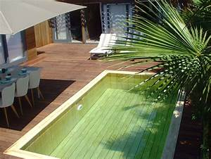 piscine integree dans terrasse modern aatl With piscine integree dans terrasse