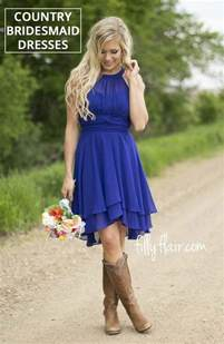 bridesmaid dresses with boots best 25 country bridesmaid dresses ideas on blue jean wedding bridesmaids in boots