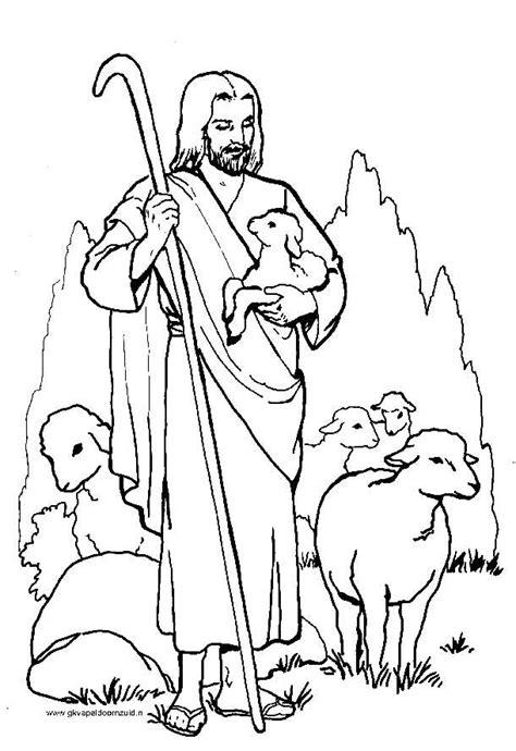 Kleurplaat Kandelaar Bijbel by De Goede Herder Gkv Apeldoorn Zuid Jezus Is De Goede
