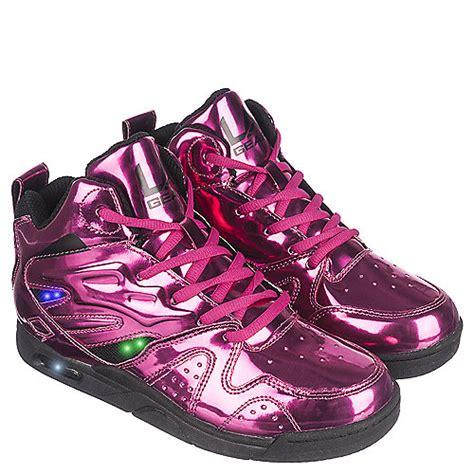 la gear light up shoes la gear l a lights youth pink sneaker shiekh shoes