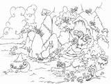 Coloring Cave Dragon Pages Treasure Bear Bluebison Leviathan Printable Dragons Colouring Sloth Sea Leafy Seadragon Sunken Sloths Ship Llama Mountains sketch template