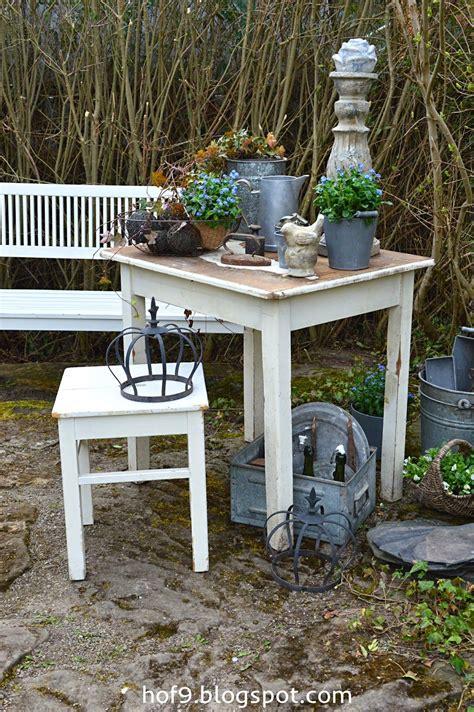 Gartendekoration Vintage by Vergissmeinicht Gartendekoration Im Shabby Stil Wei 223 E