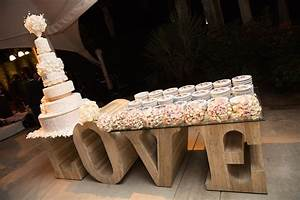 cakes desserts photos tall cake on rustic love letters With large love letters for wedding