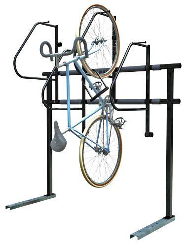 dero bike racks dero ultra space saver efficient vertical bike parking