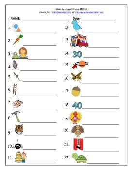 controlled vowels syllable card match  worksheet