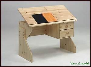 Höhenverstellbarer Schreibtisch Kinder : h henverstellbarer kinder schreibtisch sch ler holz kiefer ~ Lizthompson.info Haus und Dekorationen