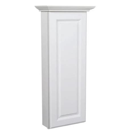 home depot bathroom wall cabinets masterbath raised panel 12 in w wall hutch cabinet in