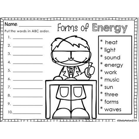 image result  forms  energy worksheet  grade
