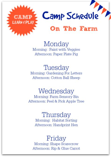 camp learn amp play farm week no time for flash cards 367   farm week camp learn and play day camp lessons for summer camp 567x800