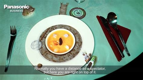 le petit chef cuisine bringing visual mapping to the restaurant table with le petit chef