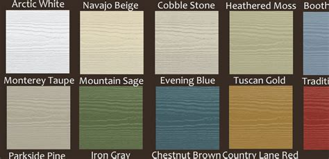 hardie siding colors hardiplank siding all colors images