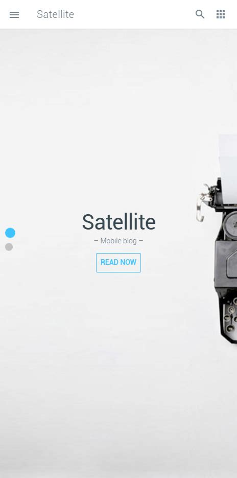 Themeforest Gravity Material Mobile App Template by Satellite Premium Responsive Mobile App Html5 Template