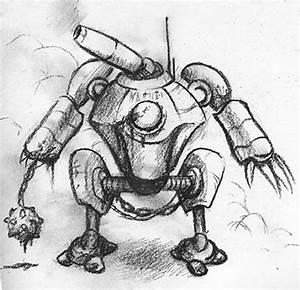 Sketch Please » Battle robot